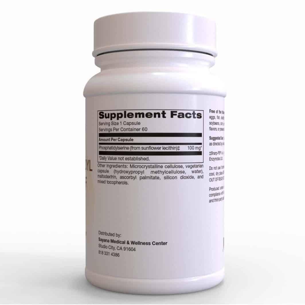 Phosphatidylserine SF 60 Capsules