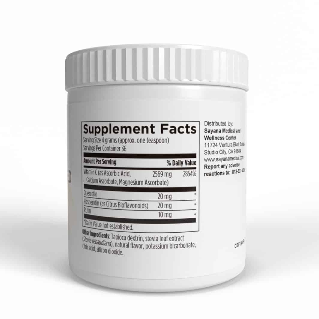 High Dose Powdered Vitamin C